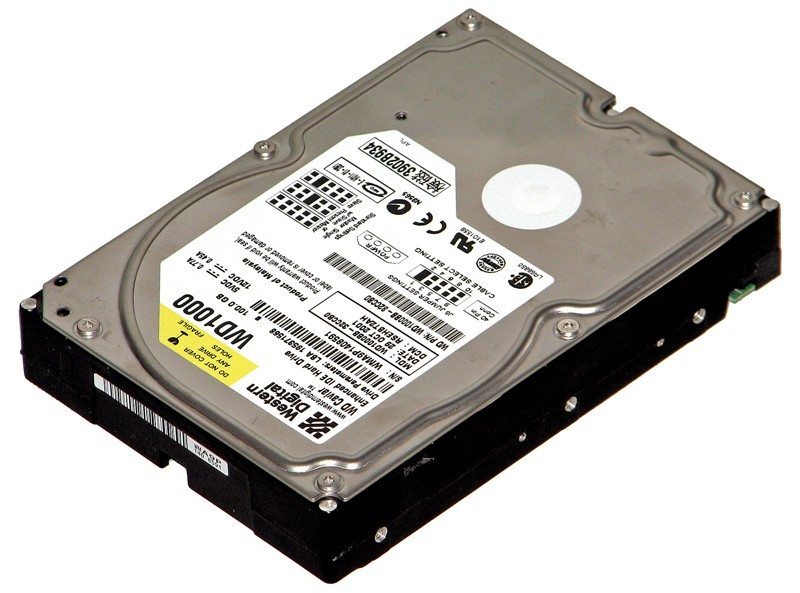 How to retrieve data from old internal hard drive